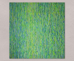 Yellow Green Sparkle Flow